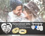 engagement holiday personalized jewelry gifts