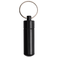 Wholesale Cremation Keychain Aluminum Urn Memorial Black