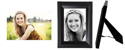 sample of art quality framed memorial portrait