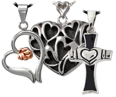 premium stainless steel cremation jewelry