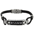 Wholesale Pet Cremation Jewelry Stainless Steel Memento Bracelet