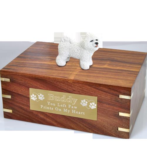 Wholesale Bichon Frise Breed Dog Urns New Memorials Direct