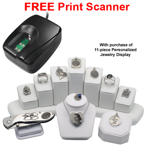 Free print scanner offer with 11 piece display purchase