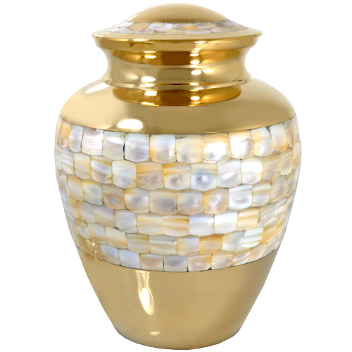 Wholesale Cremation Urns: Mother of Pearl