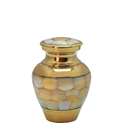 Wholesale Urn Keepsake: Mother of Pearl