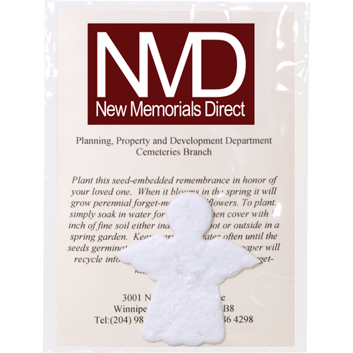 Wholesale Plantable Memorials: 100 Plantables with Your Logo