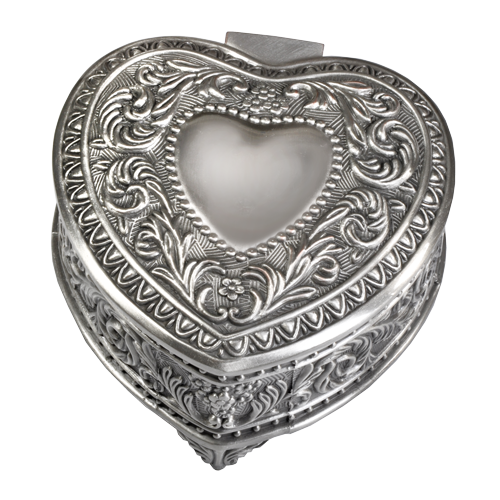 wholesale scroll heart small urn