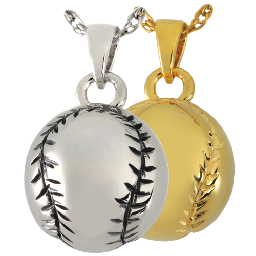 Wholesale Cremation Jewelry Baseball