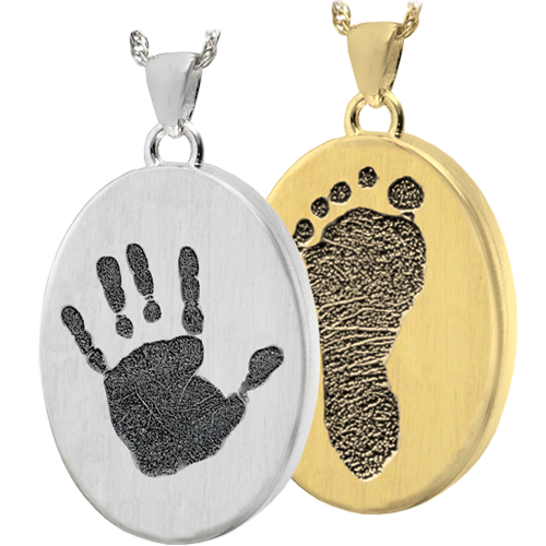 Wholesale Oval Jewelry with Handprint or Footprint