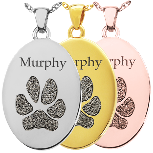 Actual Paw Print Jewelry