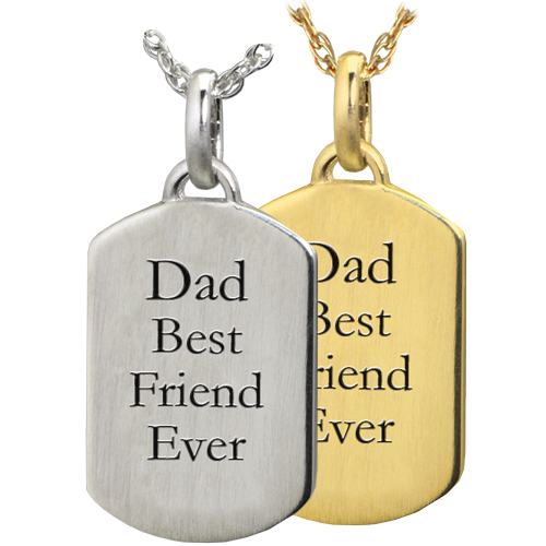 Wholesale Petite Dog Tag Flat with Text Engraving in silver or gold