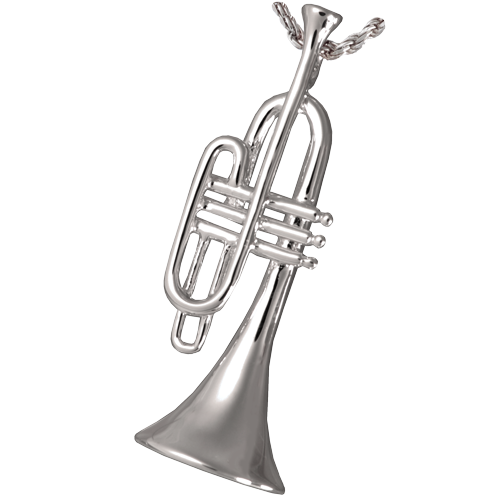 Wholesale Trumpet Sterling Silver Cremation Jewelry