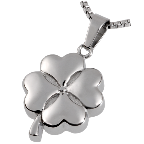 Wholesale Cremation Jewelry Stainless Steel Hearts of Clover