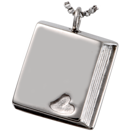 Wholesale Cremation Jewelry Stainless Steel Book of Love