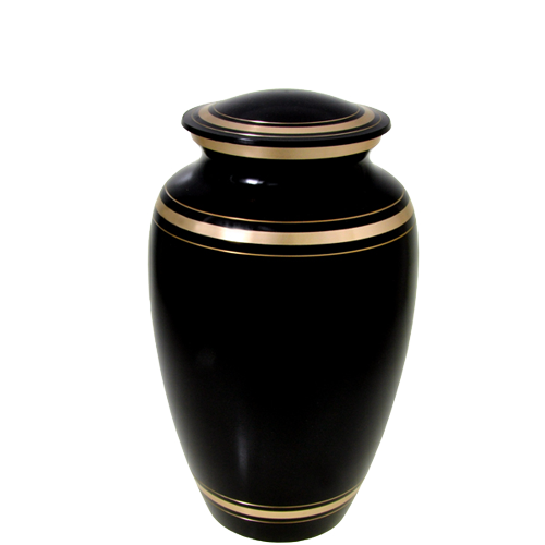 Wholesale Cremation Urns: Black Gold- 6