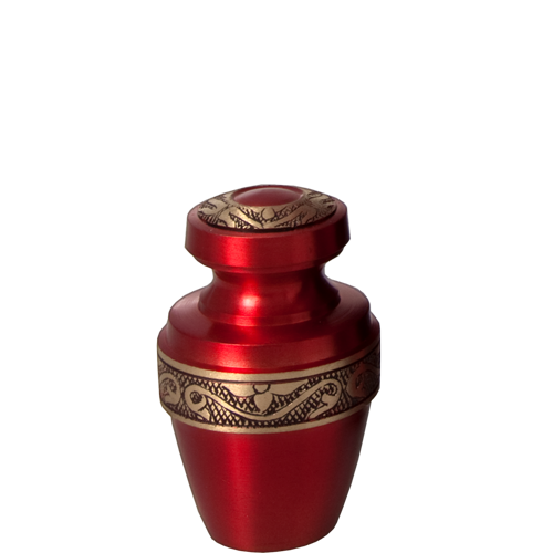 Wholesale Cremation Keepsake: Scarlet