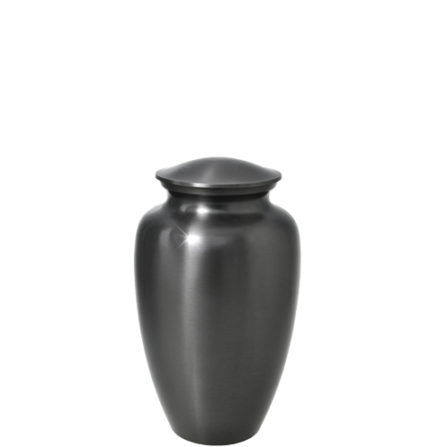 Wholesale Urns: Simple Grey- Mini Keepsake