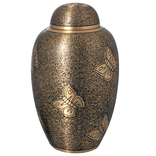 Wholesale Cremation Urns: Antique Butterfly