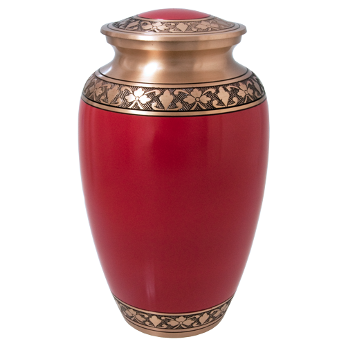 Wholesale Cremation Urns: Cherry Red