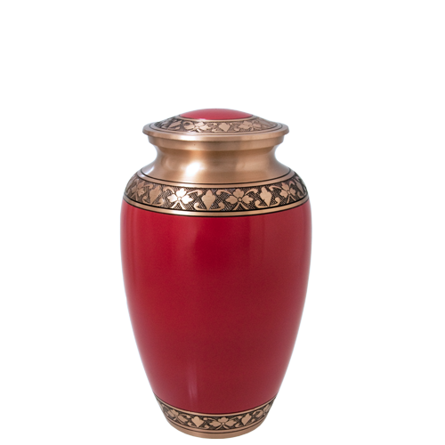 Wholesale Cremation Urns: Cherry Red Sharing Urn- 6""