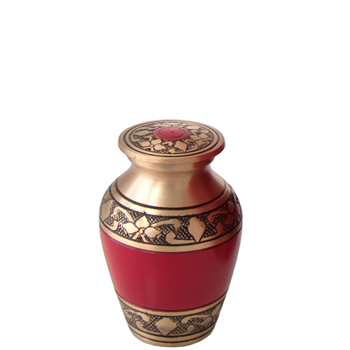 Wholesale Cremation Keepsake: Cherry Red