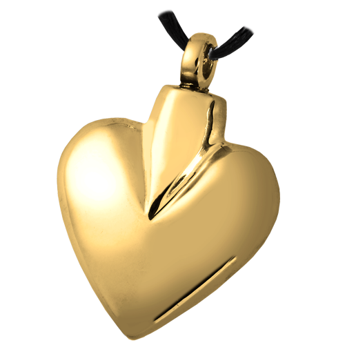 Wholesale Cremation Jewelry Brass Modern Heart