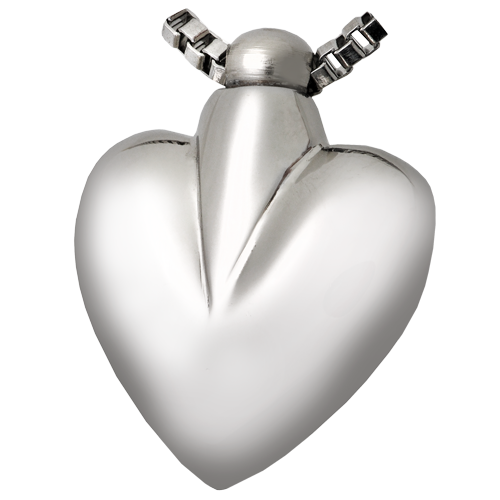 Wholesale Cremation Jewelry Nickel-plated Brass Modern Heart