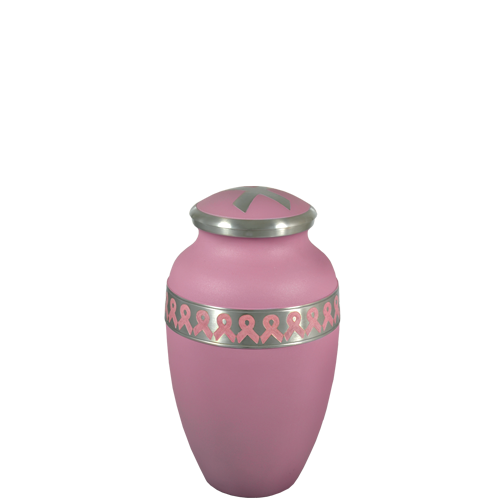 Jamie Bodkins Power of Pink Breast Cancer Ribbon Memorial Mini Urn