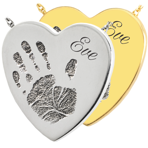 Wholesale Baby Handprint Heart Jewelry