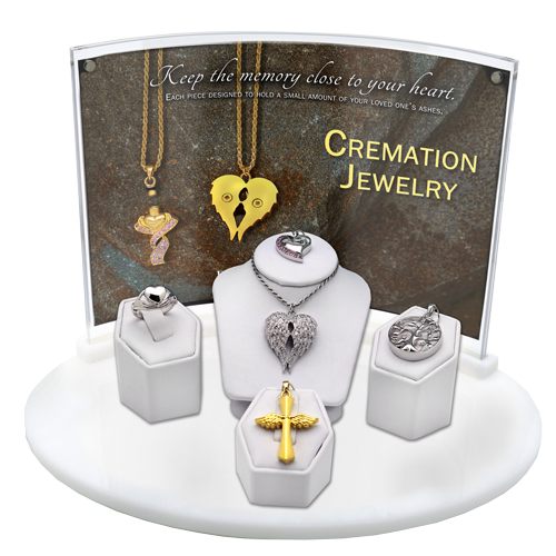 Wholesale NMD 5- Piece Cremation Jewelry Display