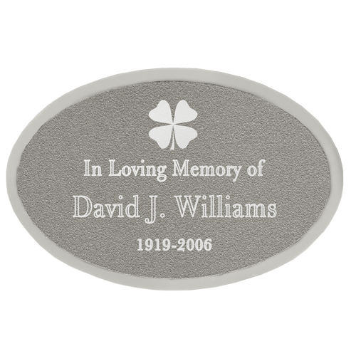 Engraved Memorial Plaque