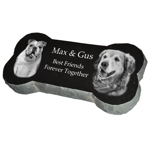 Wholesale Granite Pet Bone Marker