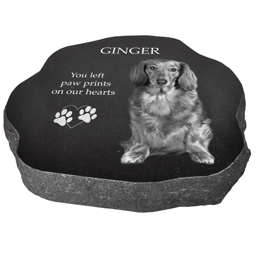 Alternative view of Wholesale Granite Pet Marker- Rustic02