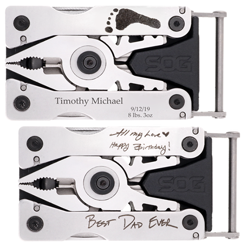 Personalized Multi-Tool Belt Buckle samples