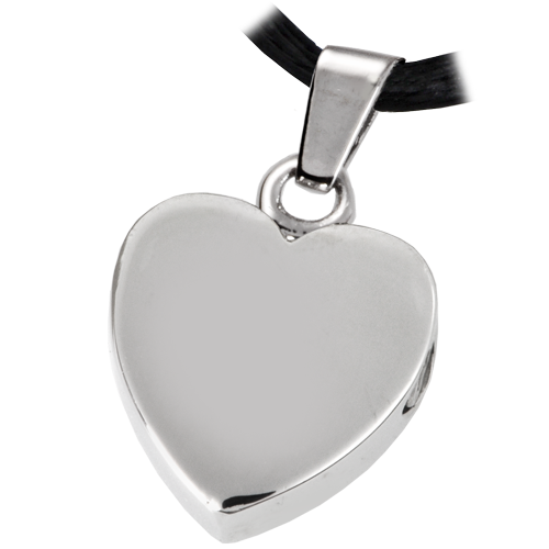 Wholesale Cremation Jewelry Stainless Steel Remembrance Heart