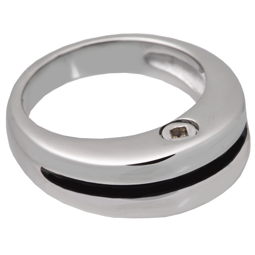 Wholesale Cremation Jewelry: Premium Stainless Steel Zenith Ring