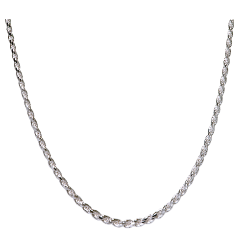 Wholesale Sterling Silver Rope Chain