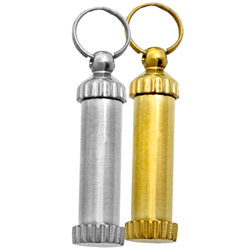 Wholesale Cylinder Memento Jewelry in nickel or brass