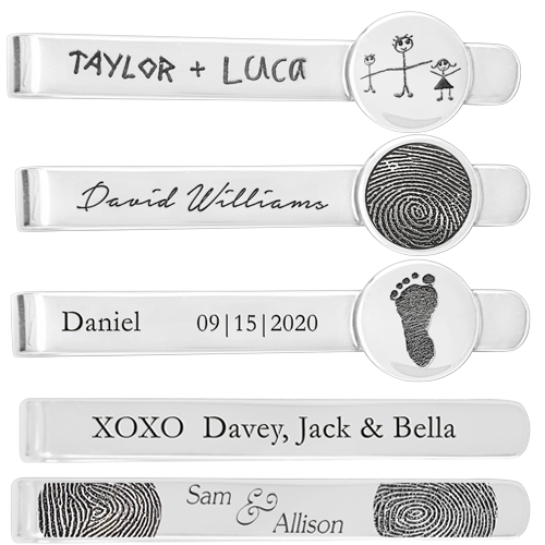 Wholesale Personalized Tie Clip samples