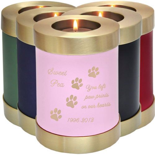 Customizable Wholesale Memorial Candle Pet Urn