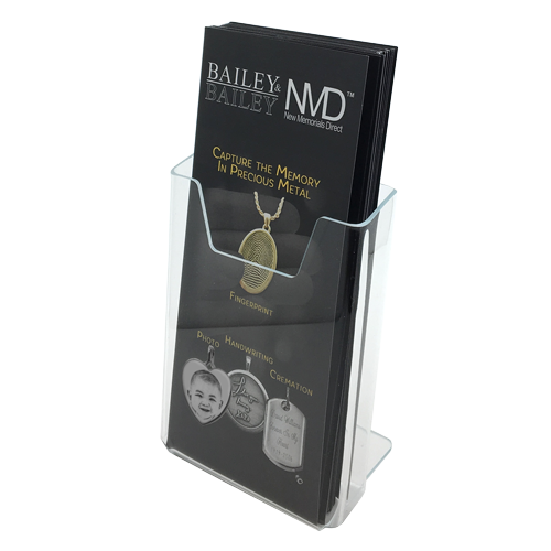 Wholesale Acrylic Holder and NMD Tri-folds