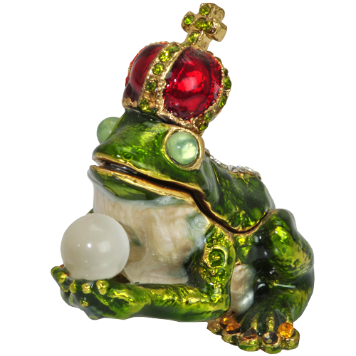 Wholesale Urn Keepsake: Frog King