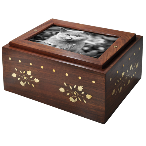 Wholesale Photo Wood Cat Urn Slider