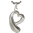 Wholesale Cremation Jewelry Teardrop Heart