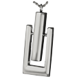 Silver Timeless Pendulum Cremation Jewelry