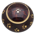 Wholesale Pet Cremation Urns: Raku Pawprints