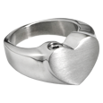 Wholesale Bold Heart Stainless Steel Ring