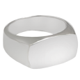 sterling silver rectangle urn ring
