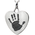 Wholesale Heart Jewelry with Handprint no chamber