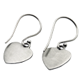 Wholesale Petite Heart Earrings back
